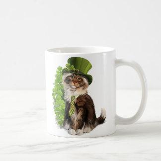 Cat-leprechaun Coffee Mug