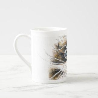 Cute Maine Coon Kitty Tea Cup