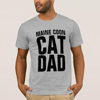 MAINE COON CAT DAD T-shirts