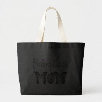 Maine Coon Cat Mom Gifts Jumbo Tote Bag