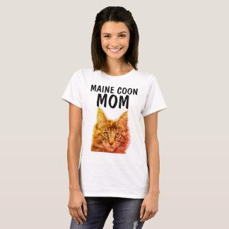 MAINE COON CAT MOM t-shirts