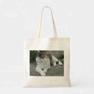 Maine Coon Cat Photo Image 1 Budget Tote Bag