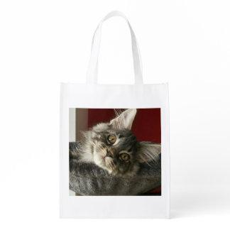 Maine Coon Kitten Reusable Bag