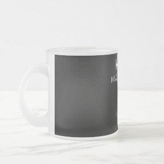 Mother of Maine Coons, #Maine Coons Frosted Glass Coffee Mug