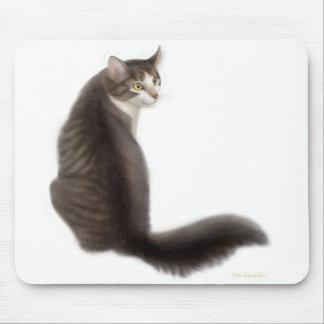 Pansy the Cat Mousepad