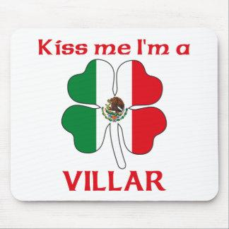 Personalized Mexican Kiss Me I'm Villar Mouse Pads