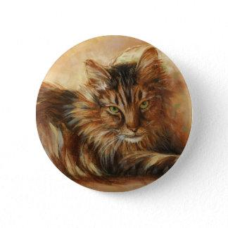 0005 Cat on Pillow Button