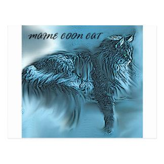 #9 Maine Coon Cat 2 Postcard