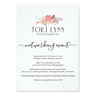 Business Networking Event Invitation - Add Logo