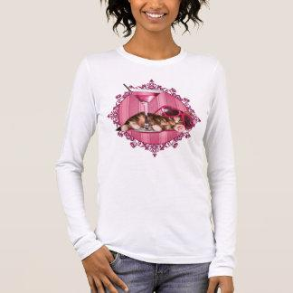 Cocktail maine coon long sleeve T-Shirt