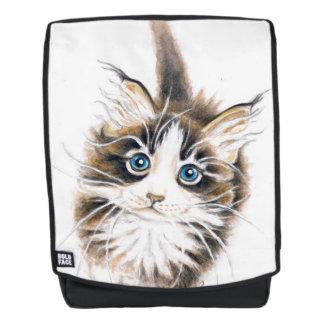 Cute Maine Coon Kitty Backpack