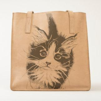 Cute Maine Coon Kitty Tote