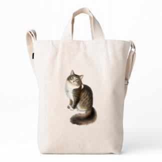 Duffy the Maine Coon Cat Baggu Duck Bag