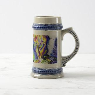 Electric Cat Beer Stein