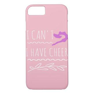 Funny I Can't I Have Cheer gift for Cheerleaders iPhone 8/7 Case