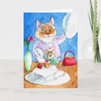 Ladies Who Lunch card or invitation