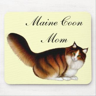 Maine Coon Cat Mom Mousepad