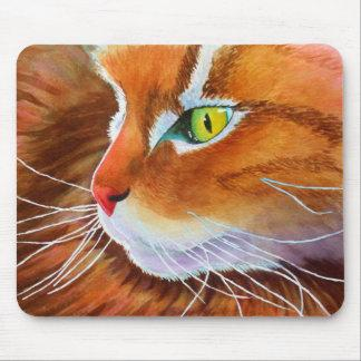 Maine Coon Cat Whiskers Mouse Pad
