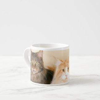 Maine Coon Cats Espresso Cup