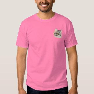 Maine Coon Embroidered T-Shirt