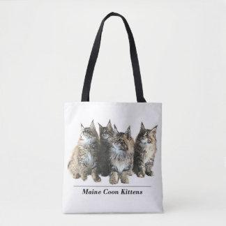 Maine Coon Kitten tote