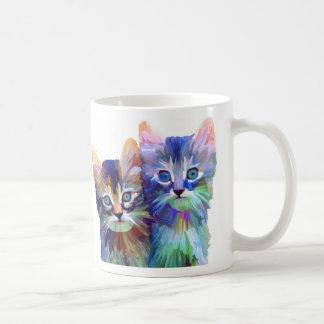 Maine Coon Kittens on a Mug