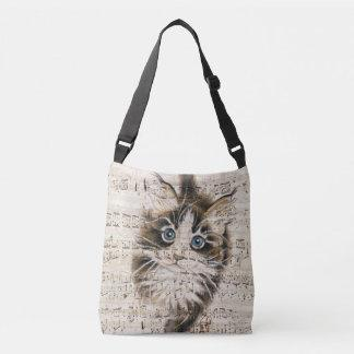 Maine Coon Kitty music Crossbody Bag
