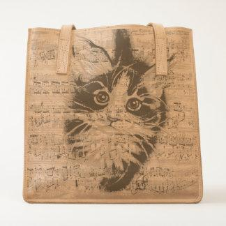 Maine Coon Kitty music Tote