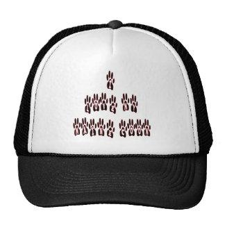 Maine Coon Love Paws Trucker Hat