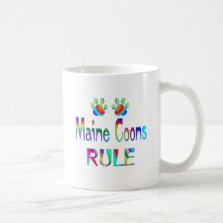 Maine Coons Rule Coffee Mug