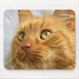 Orange Coon Cat Mousepad