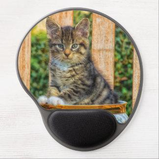Pot Of Baby Kitten Gel Mouse Pad