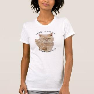 PURR-fection British Shorthair Red/Creme T-Shirt
