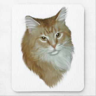 Red Tabby Maine Coon Mouse Pad