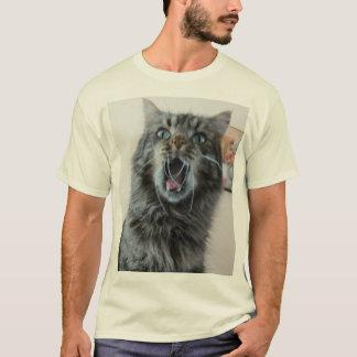 Shocked Cat is shocked T-Shirt