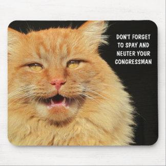 Spay and Neuter Your Congressman Mouse Pad