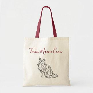 Team Maine Coon tote