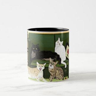 The Four Little Mountain Lions mug