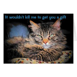 Your Gift? Why Risk It Card